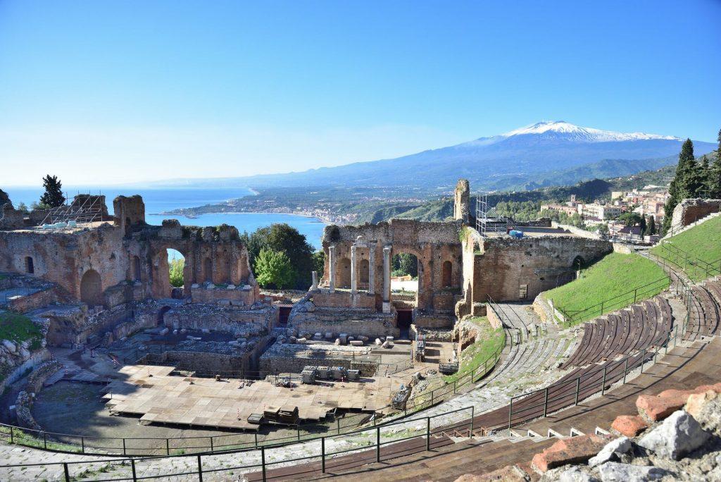 Sicily Taormina Teatro Greco