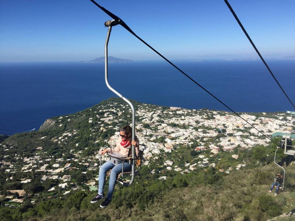 Anacapri Monte Solaro Chair Lift