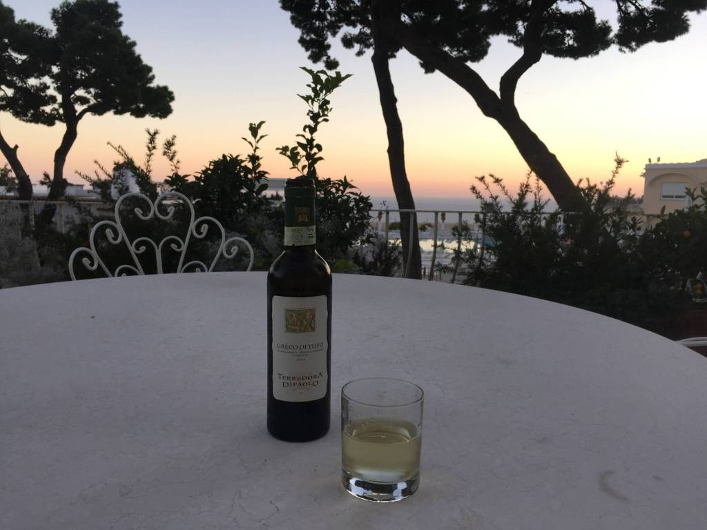 Capri Vino and View