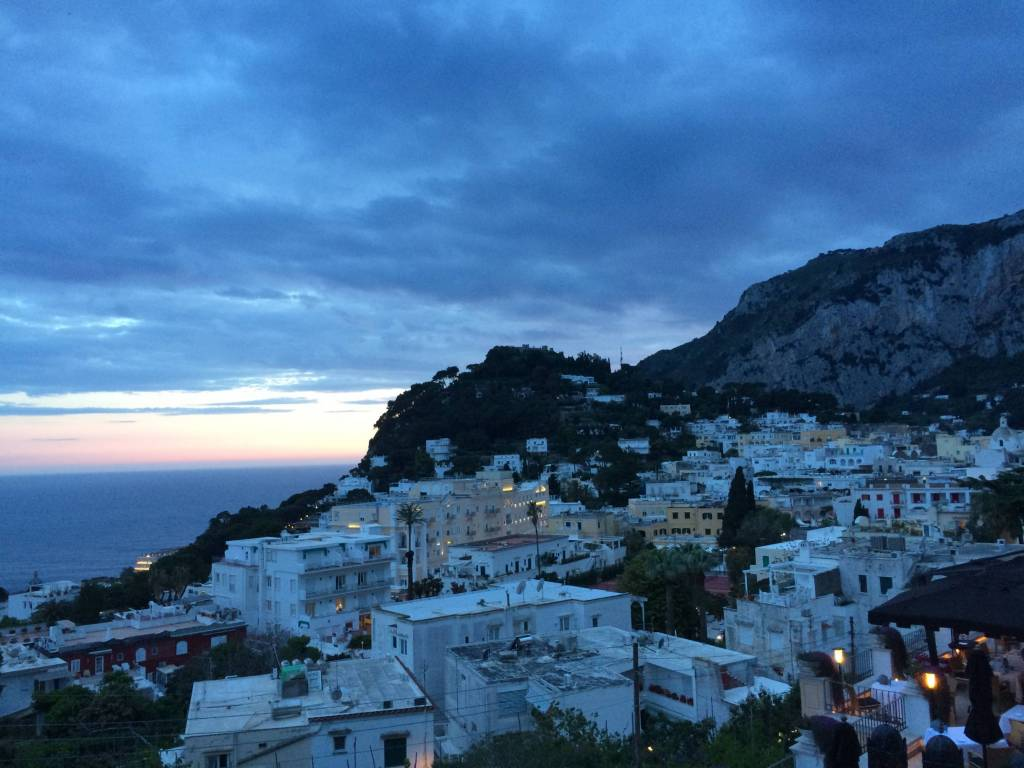 Capri View from Tiberio
