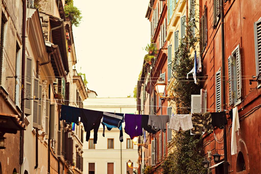 Streets and Clothesline Rome