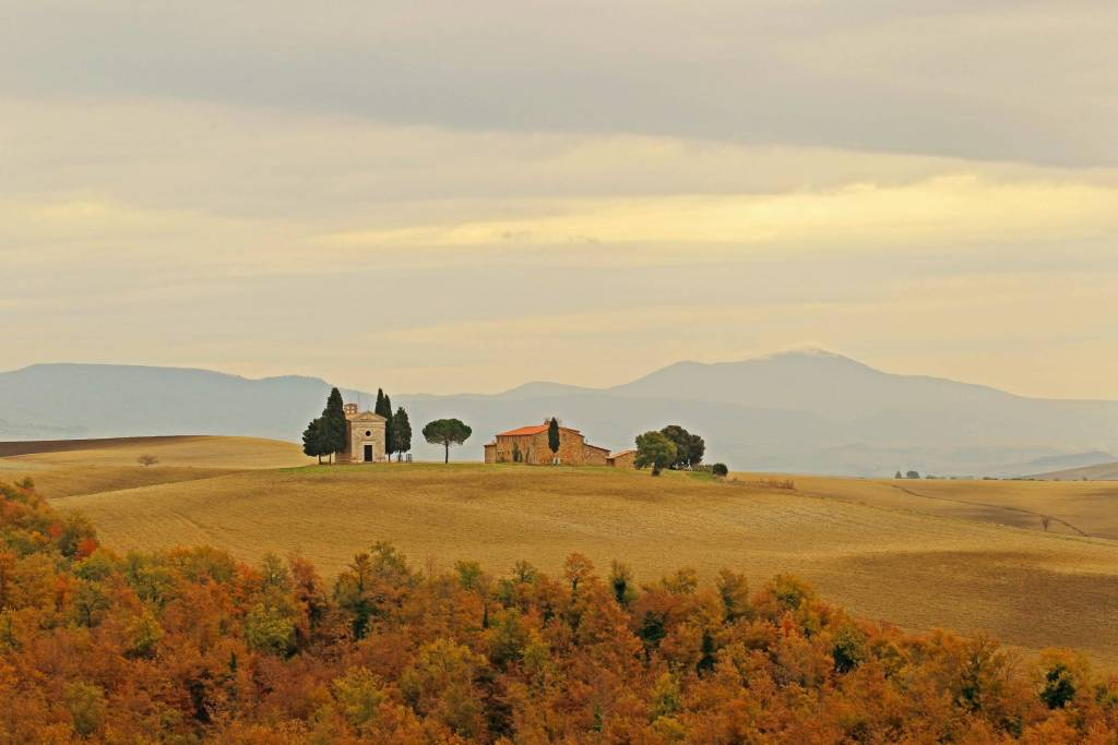 Tuscany in November (Photo by Kenny Kim)