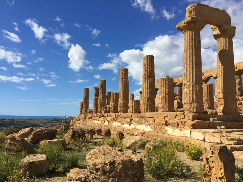 Agrigento, Sicily. Valley of the Temples