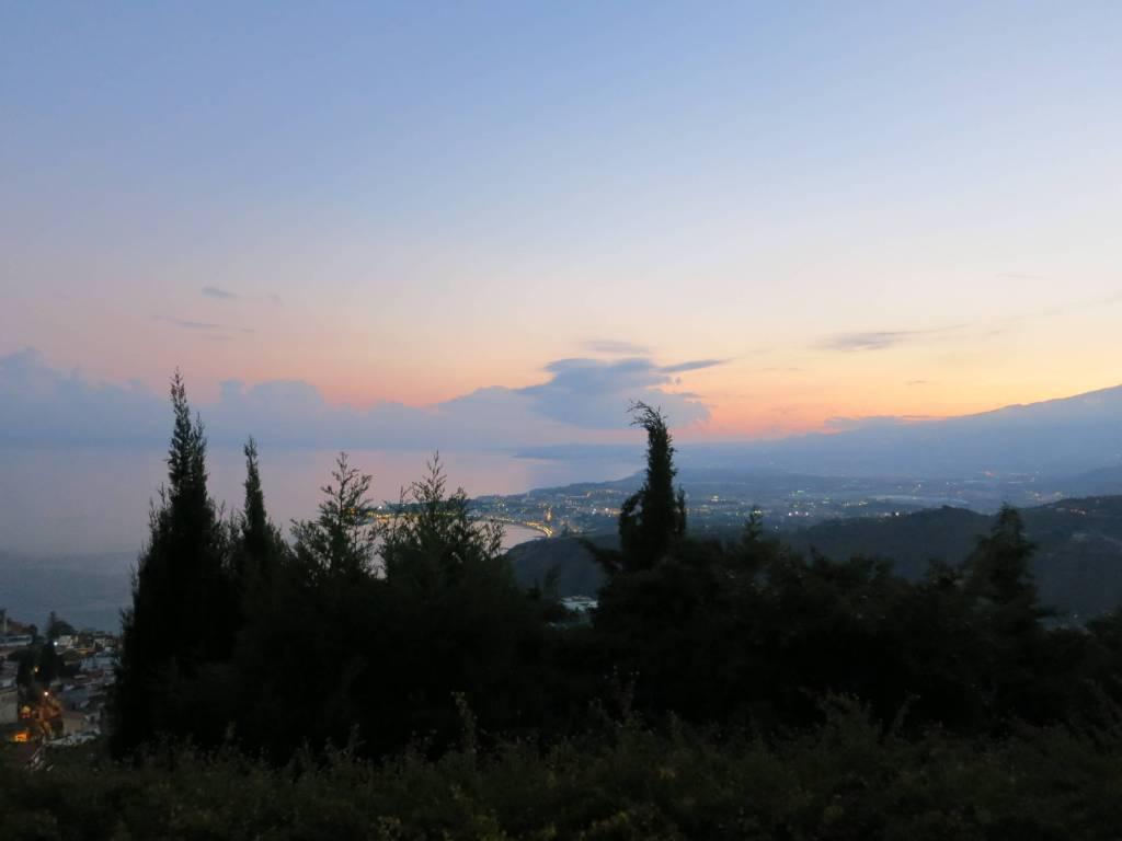 Sicily Taormina Sunset