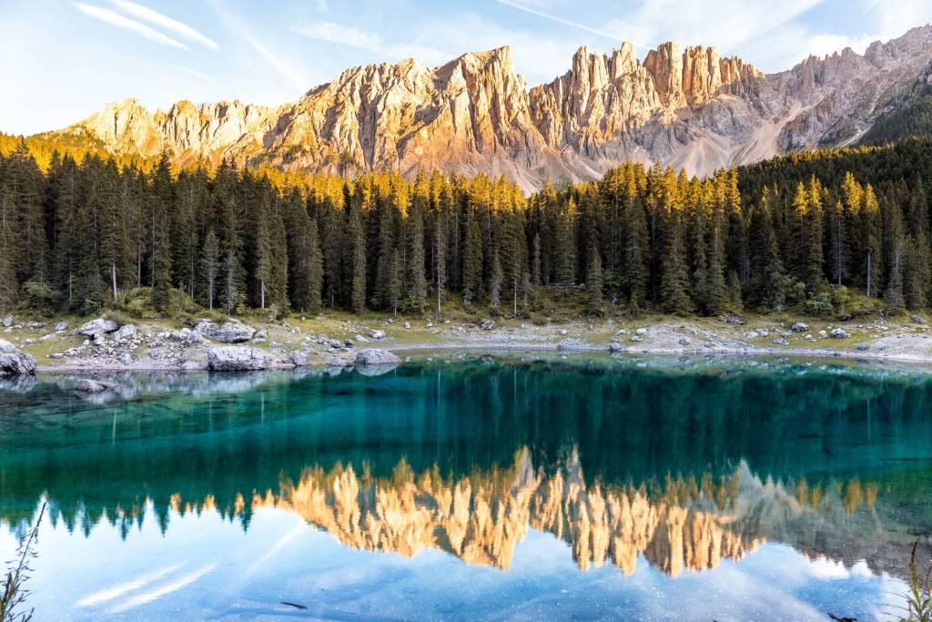 dolomites lake carezza