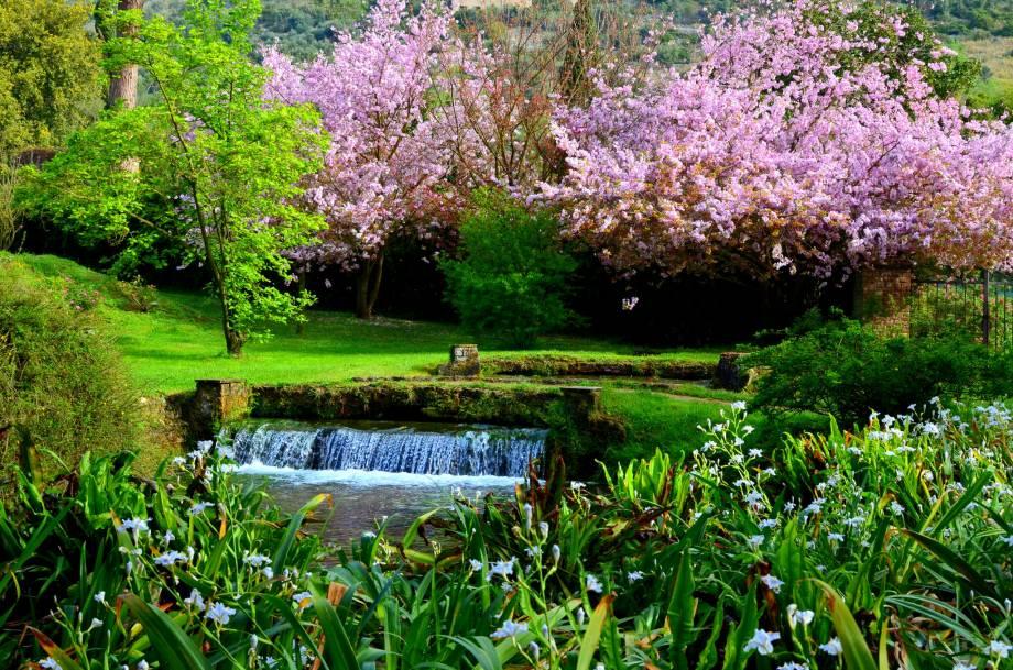 Ninfa Gardens – Most Beautiful Gardens in Italy