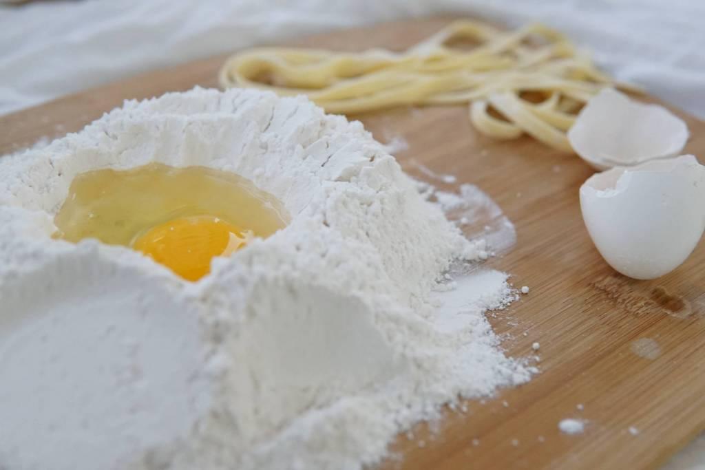 Fresh pasta is abundant in Emilia Romagna