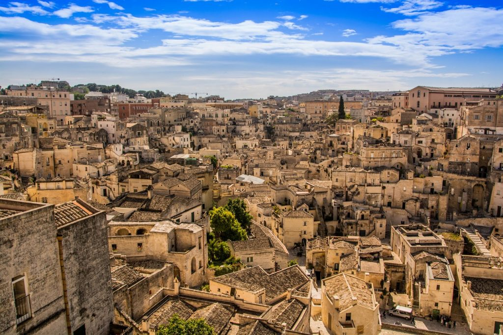 Visit the Sassi in Matera, Italy