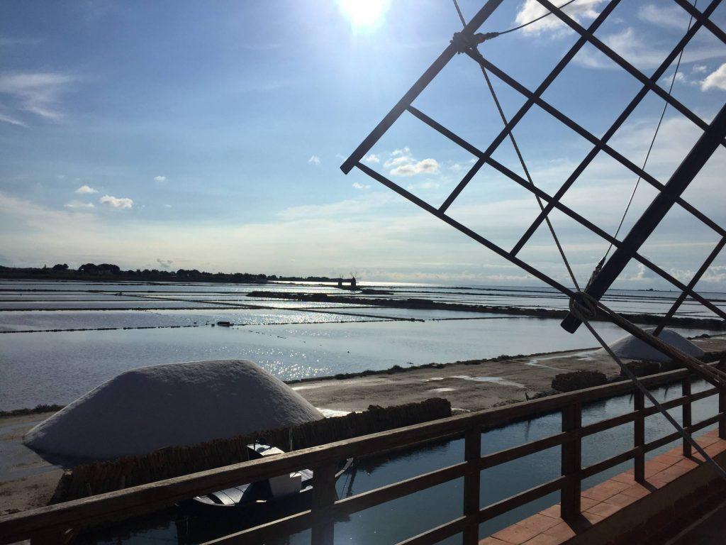 Salt flats and salt harvesting — Trapani