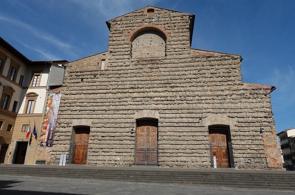 San Lorenzo Basilica's unfinished façade