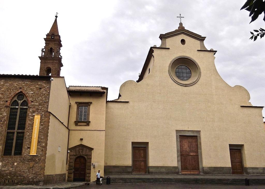 Santo Spirito church in Florence