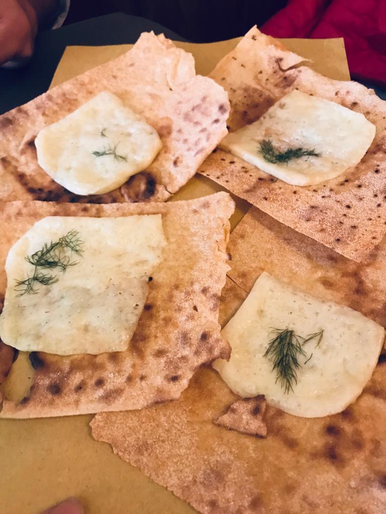 Sardinia Curasau Bread and Cheese