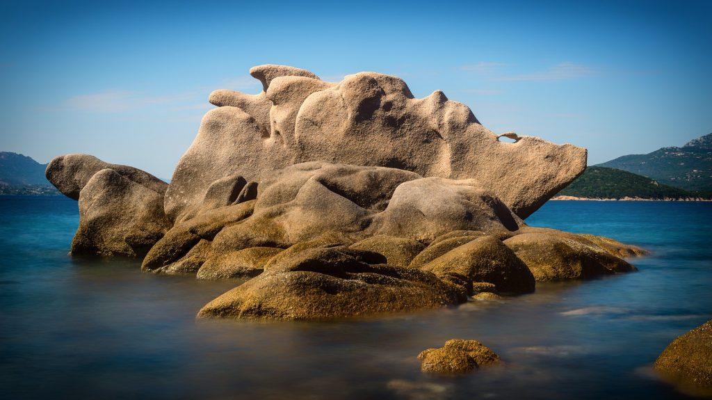 Sardinia Rock Face