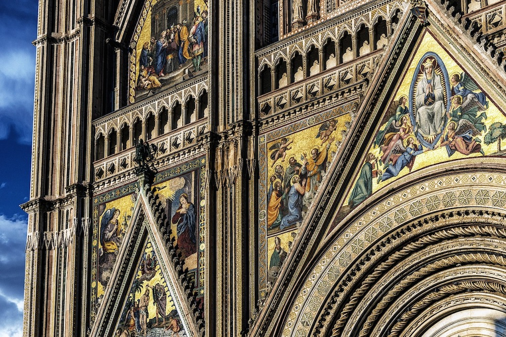 Orvieto Cathedral, Umbria